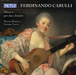 Ferdinando Carulli: Music for two guitars Product Image