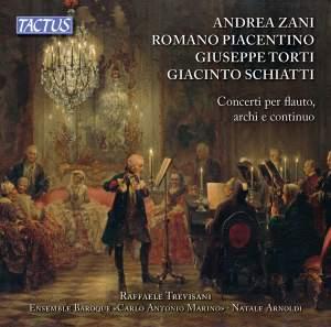 Flute Concertos: Zani, Piacentino, Torti & Schiatti Product Image