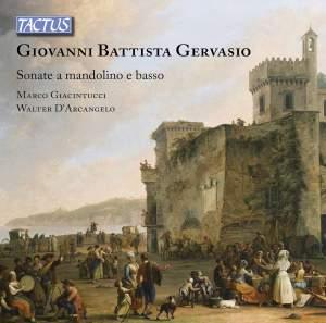 Giovanni Battista Gervasio: Sonatas for Mandolin Product Image