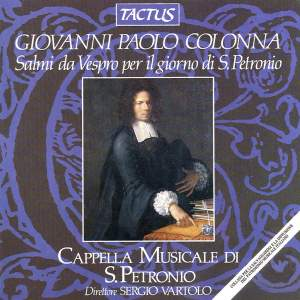 Giovanni Paolo Colonna: Salmi da Vespro per il giorno di. S. Petronio