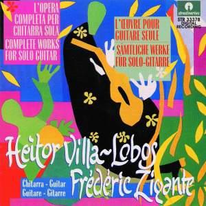 Heitor Villa-Lobos: Complete works for solo guitar