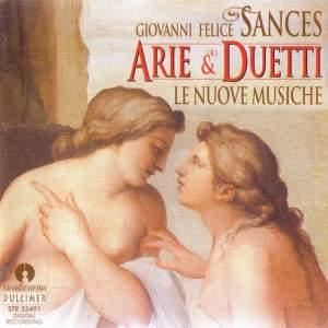Giovanni Felice Sances: Arie e Duetti