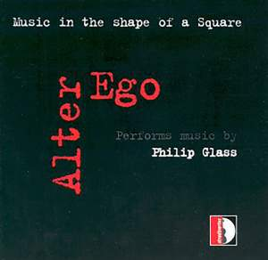 Glass, P: Music in the shape of a square Product Image