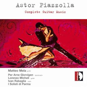 Piazzolla - Complete music with guitar