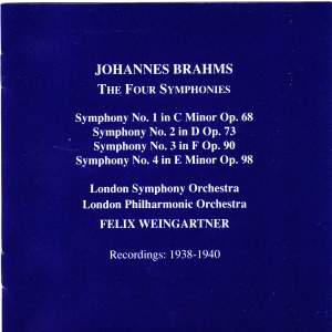 Brahms: Symphonies Nos. 1-4 Product Image