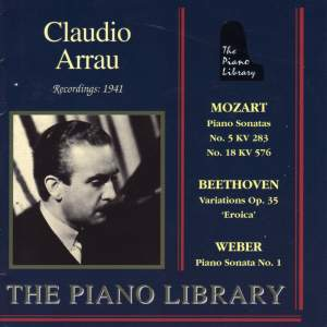 Mozart, Beethoven & Weber: Piano Works