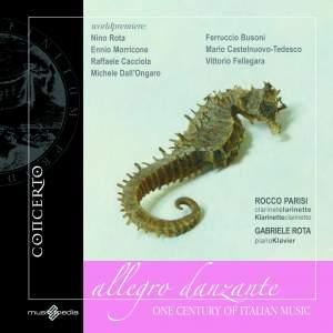 Allegro Danzante: A Century of Italian Music for Clarinet & Piano