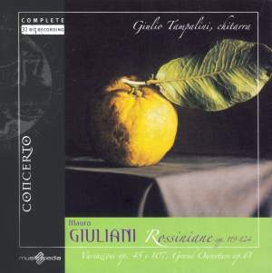 Giuliani, M.: Rossiniana Nos. 1-6 , Variations On Folies D'Espagne & Variations On A Theme From Handel's Harmonious Blacksmith