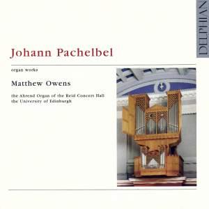 Pachelbel - Organ Works Volume 1