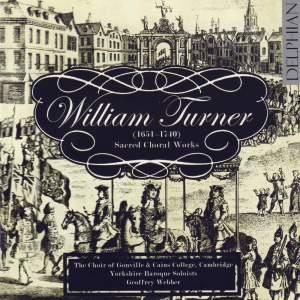 Turner - Sacred Choral Works Product Image