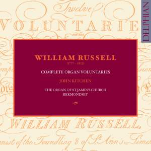 William Russell - Complete Organ Voluntaries