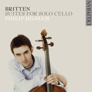 Britten: Suites for cello solo, Nos. 1-3