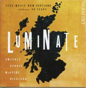 Luminate - Live Music Now Scotland celebrates 30 years Product Image