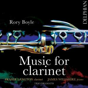 Rory Boyle: Music for Clarinet Product Image