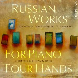 Russian Works for Piano Four Hands