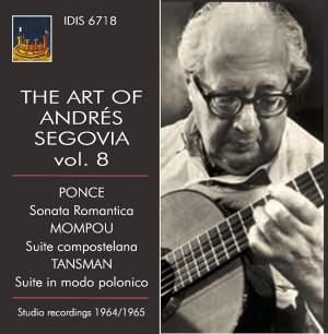 The Art of Andrés Segovia, Vol. 8