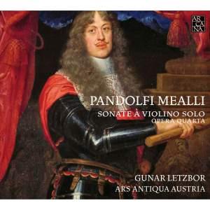 Pandolfi: Six Violin Sonatas, Op. 4