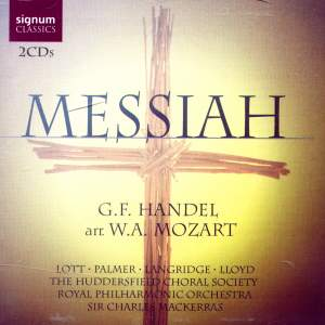 Mozart: Der Messias, K572 (after Handel)