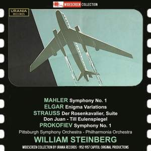 William Steinberg conducts Mahler, Elgar, Strauss and Prokofiev