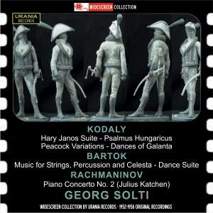 Georg Solti conducts Kodaly, Bartok & Rachmaninov