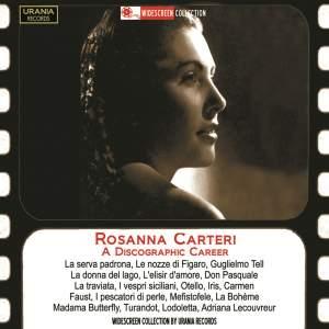 Rosanna Carteri: Studio recordings 1949-60