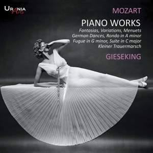 Mozart: Fantasias, Variations, Menuets etc. for piano