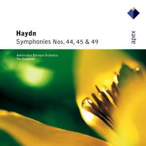 Haydn: Symphonies Nos. 44, 45 & 49