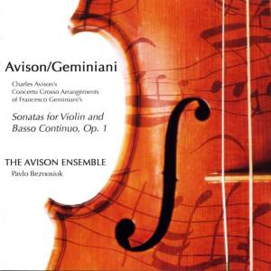 Charles Avison - Concerto Grossi after Geminiani