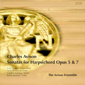 Avison - Sonatas for Harpsichord