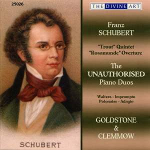 Schubert - The Unauthorised Piano Duos Volume 1