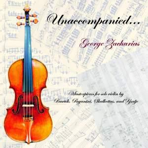 George Zacharias - Unaccompanied