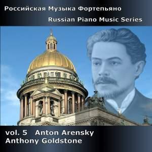 Russian Piano Music Series Volume 5 - Anton Arensky