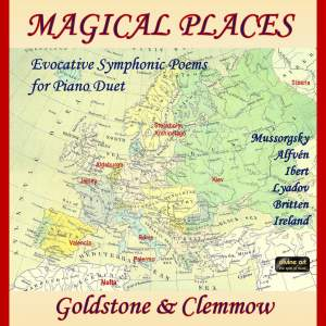 Magical Places: Evocative Symphonic Poems for Piano Duet Product Image