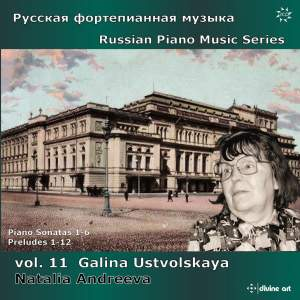 Russian Piano Music Series Volume 11 - Galina Ustvolskaya Product Image
