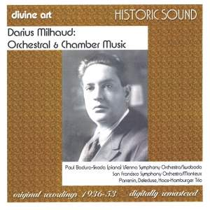Milhaud - Orchestral & Chamber Music