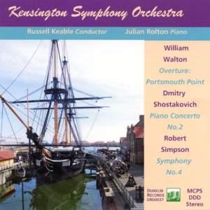 Kensington Symphony Orchestra plays Walton, Shostakovich and Simpson