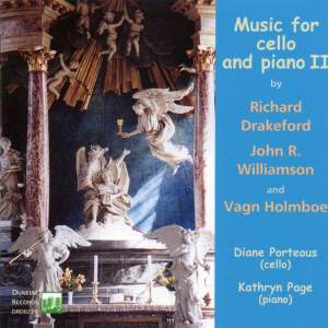 Drakeford, Williamson & Holmboe: Music for Cello and Piano II