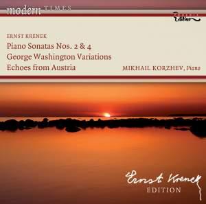 Krenek - Piano Works