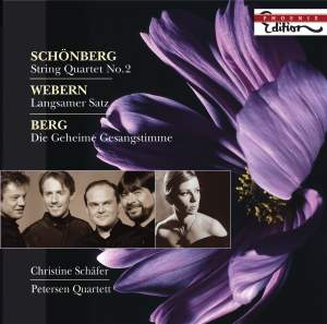 Petersen Quartet play Berg, Schoenberg & Webern Product Image