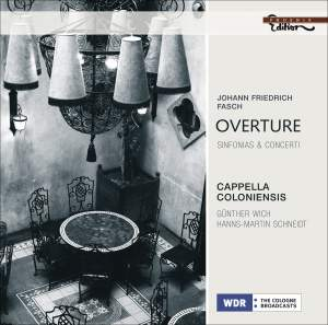 Fasch - Overture & Sinfonias & Concerti Product Image