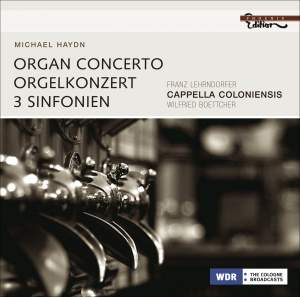 Michael Haydn - Organ Concerto & 3 Symphonies Product Image
