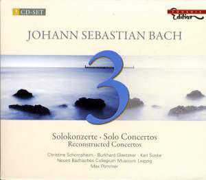 Bach - Solo Concertos & Reconstructed Concertos Product Image
