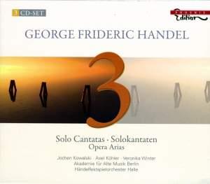 Handel - Solo Cantatas & Arias Product Image