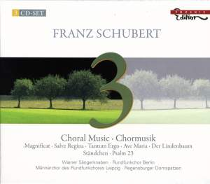 Schubert - Choral Music Product Image