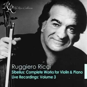 Ruggiero Ricci: Live Recordings, Vol. 3