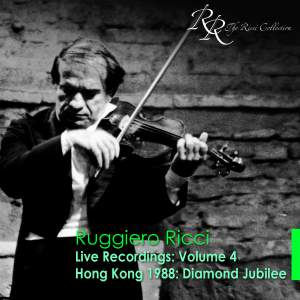 Violin Recital: Ruggiero Ricci
