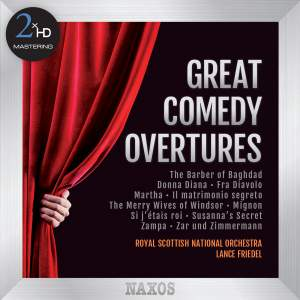 Great Comedy Overtures - 2xHD