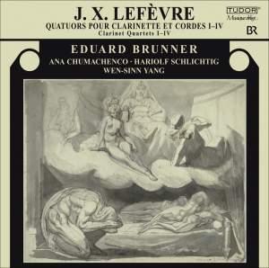 Lefevre - Quartets for Clarinet and String Trio