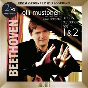 Beethoven: Piano Concertos Nos. 1-2 - 2xHD