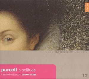 Baroque Voices 12 - Purcell: O solitude Product Image